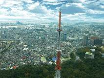 Seoul cityscape Stock Image