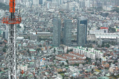 Seoul cityscape Royalty Free Stock Photos