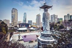 Seoul Cityscape Royalty Free Stock Image