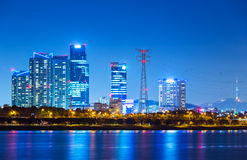 Seoul cityscape in South Korea Royalty Free Stock Images