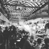 Seoul, Corea - mercato di GwangJang Fotografie Stock Libere da Diritti