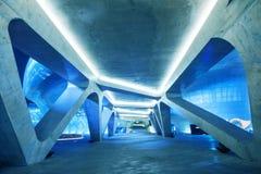 SEOUL, COREIA DO SUL - 15 DE MARÇO: Plaza do projeto de Dongdaemun Fotografia de Stock Royalty Free