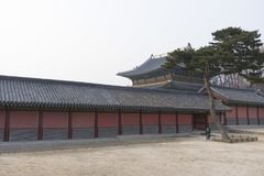 Seoul Eastern Palace Changdeokgung in Seoul Royalty Free Stock Photography