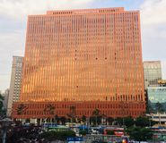 Seoul fyrkant arkivfoto