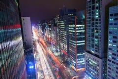 Seoul Gangnam District. Gangnam District of Seoul, South Korea Royalty Free Stock Photography