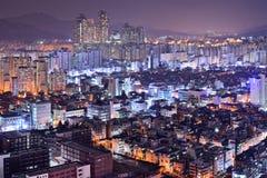 Seoul Gangnam District Skyline Stock Image