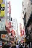 Seoul gatasikt i Sydkorea Arkivfoton