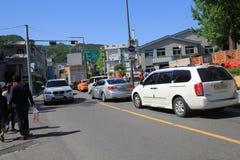 Seoul gatasikt i Sydkorea Royaltyfri Bild