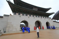 Seoul Gyeongbokgung Palace Royalty Free Stock Photos