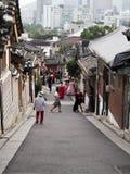 Seoul Hanok by Royaltyfri Foto