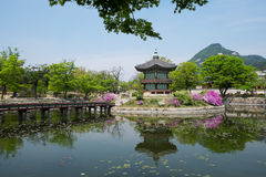 Seoul - Hyangwonjeong Royalty Free Stock Photography