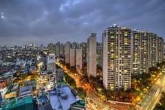 Seoul, il Sud Corea Fotografia Stock Libera da Diritti