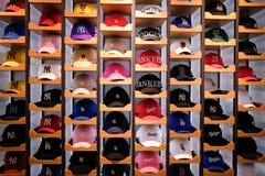Seoul,Korea-24 APR 2019:Various type of cap at supermarket shelf view