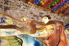 Free Seoul, Korea-April 27, 2017: Lanterns At Jogyesa Temple To Celebrate Buddha`s Birthday Stock Image - 95174391