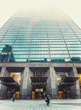 SEOUL, KOREA - AUGUST 13, 2015: Gangnam Finance Center - office of Korea`s top businesses in finance industry. SEOUL, KOREA - AUGUST 13, 2015: Gangnam Finance Royalty Free Stock Images