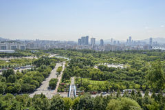 SEOUL, KOREA - 30. AUGUST 2014: Weltcup-Park Stockbild