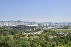 SEOUL, KOREA - 30. AUGUST 2014: Weltcup-Stadion in Seoul Lizenzfreie Stockfotografie