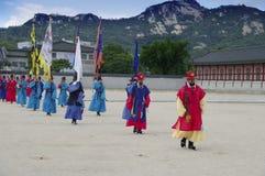 Seoul, Korea - changing of guard Stock Photo