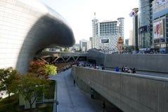 Seoul, Korea-May 19, 2017: Dongdaemun Design Plaza Royalty Free Stock Photos