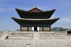 Seoul, Korea-May 17, 2017: Gyeongbokgung Palace Building Stock Images
