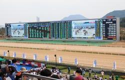 Hores racing stadium named Let's run park in Seoul, Korea royalty free stock photo