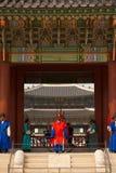 Gyeongbokgung Palace Entrance Steps Guards V Royalty Free Stock Photo