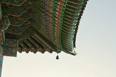 Seoul, Korean traditional architecture, asian roof Royalty Free Stock Photography