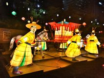 Seoul Latern Festival 2016 at Cheonggye Stock Images
