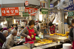 Seoul local market Royalty Free Stock Image