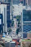 Seoul, looking toward CBD Stock Image