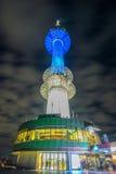 SEOUL - 28. MÄRZ: Turm N Seoul Lizenzfreie Stockfotografie