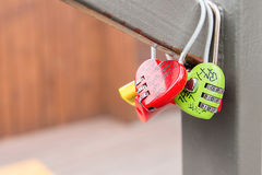 SEOUL - MARCH 28 : Love padlocks at N Seoul Tower. Stock Image