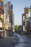 SEOUL - MAY 4 Insadong area on MAY 4, 2015 in Seoul, South Korea Stock Photo