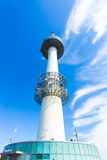 Seoul N Namsan Tower Base Low Angle View Up Royalty Free Stock Photos