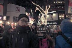 Seoul New Year Royalty Free Stock Photos