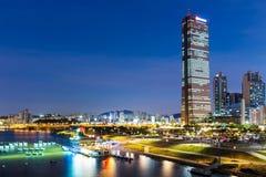 Seoul night Royalty Free Stock Photo
