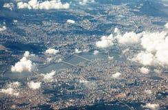 Seoul och Han River Royaltyfri Bild