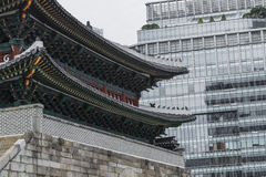 SEOUL - OCTOBER 21, 2016: Sungnyemun gate Namdaemun in Seoul, Royalty Free Stock Photography