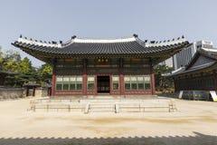 SEOUL - 21. OKTOBER 2016: Deoksugungs-Palast in Seoul, Süd-Kore Stockfoto