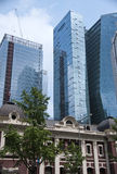 Seoul old and new. Old and new architecture of Seoul, South Korea Royalty Free Stock Image