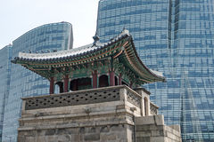 Seoul old and new Stock Photo