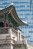 Seoul old and new Royalty Free Stock Photo
