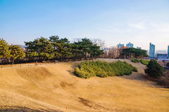 Seoul Olympic Park on a bright sunny day Royalty Free Stock Image