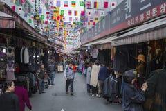 SEOUL - 21 OTTOBRE 2016: Mercato di Namdaemun a Seoul Namdaemun m. Fotografie Stock