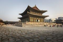 SEOUL - 21 OTTOBRE 2016: Palazzo di Gyeongbokgung a Seoul, Corea Immagine Stock