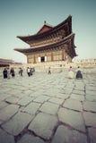 SEOUL - 21 OTTOBRE 2016: Palazzo di Gyeongbokgung a Seoul, Corea Fotografie Stock Libere da Diritti