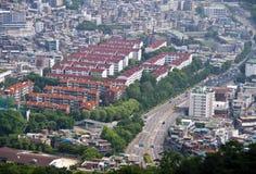 Seoul panorama Stock Photos