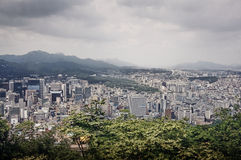 Seoul panorama Stock Photography