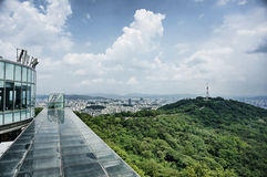 Seoul panorama Royalty Free Stock Image