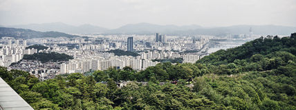 Seoul panorama Royalty Free Stock Photos